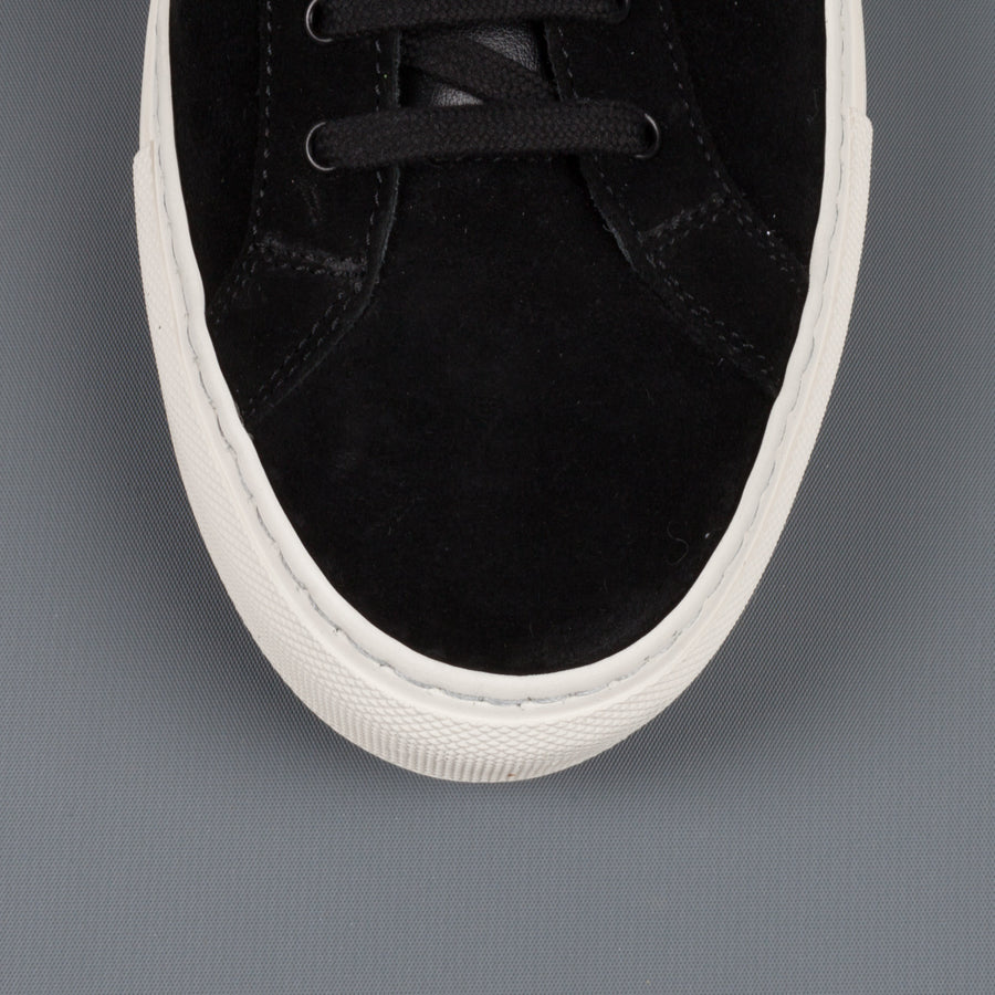 Common Projects  2074 Achilles Retro Low suede 7547 black