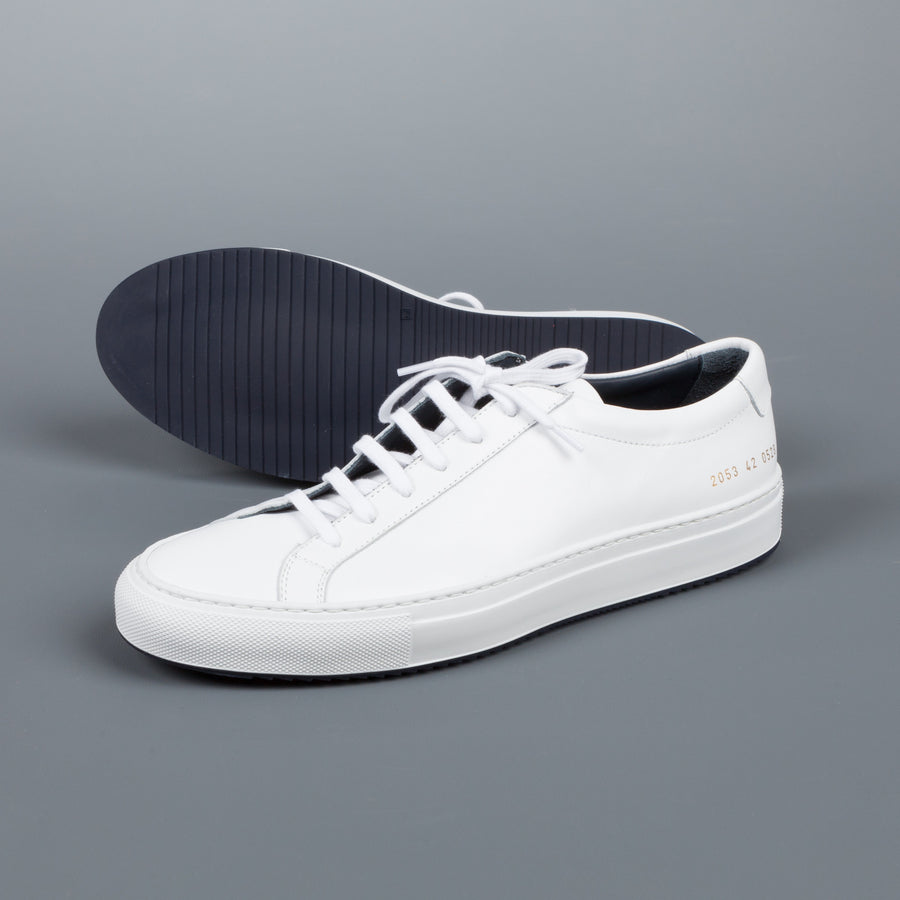 Common Projects 2053 Achilles Super White Navy 0528