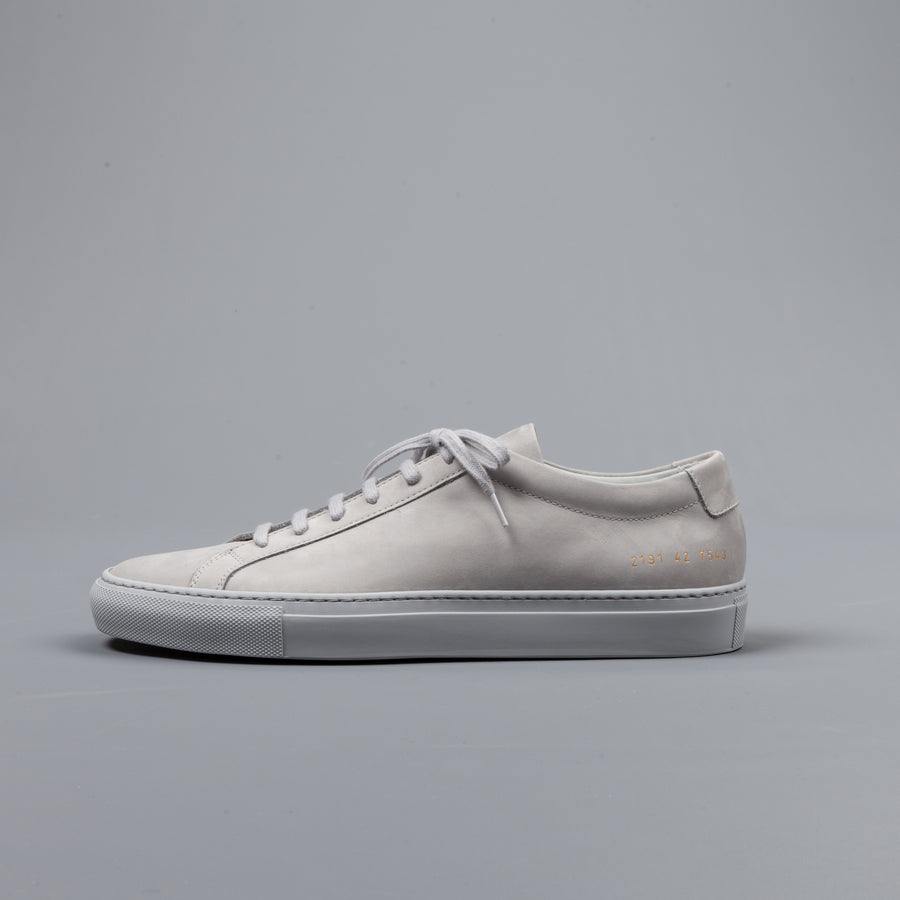 Common Projects Original Achilles Low Nabuck Grey