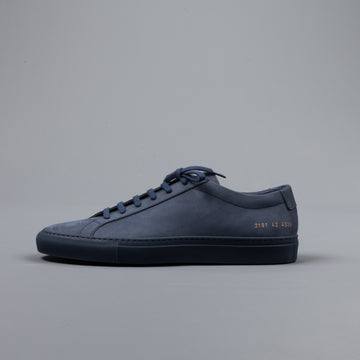 Common Projects Original Achilles Low Nabuck Navy