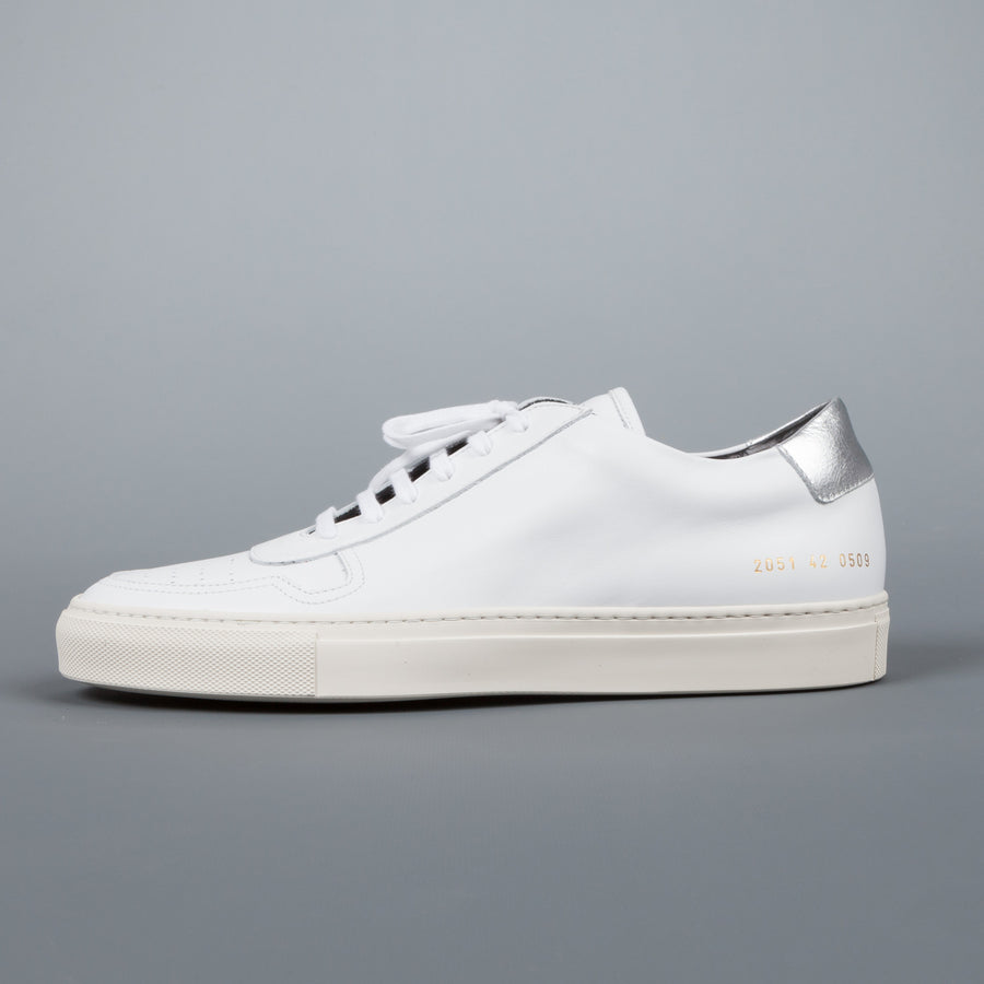 Common Projects  2051 BBall low retro 0509 white silver