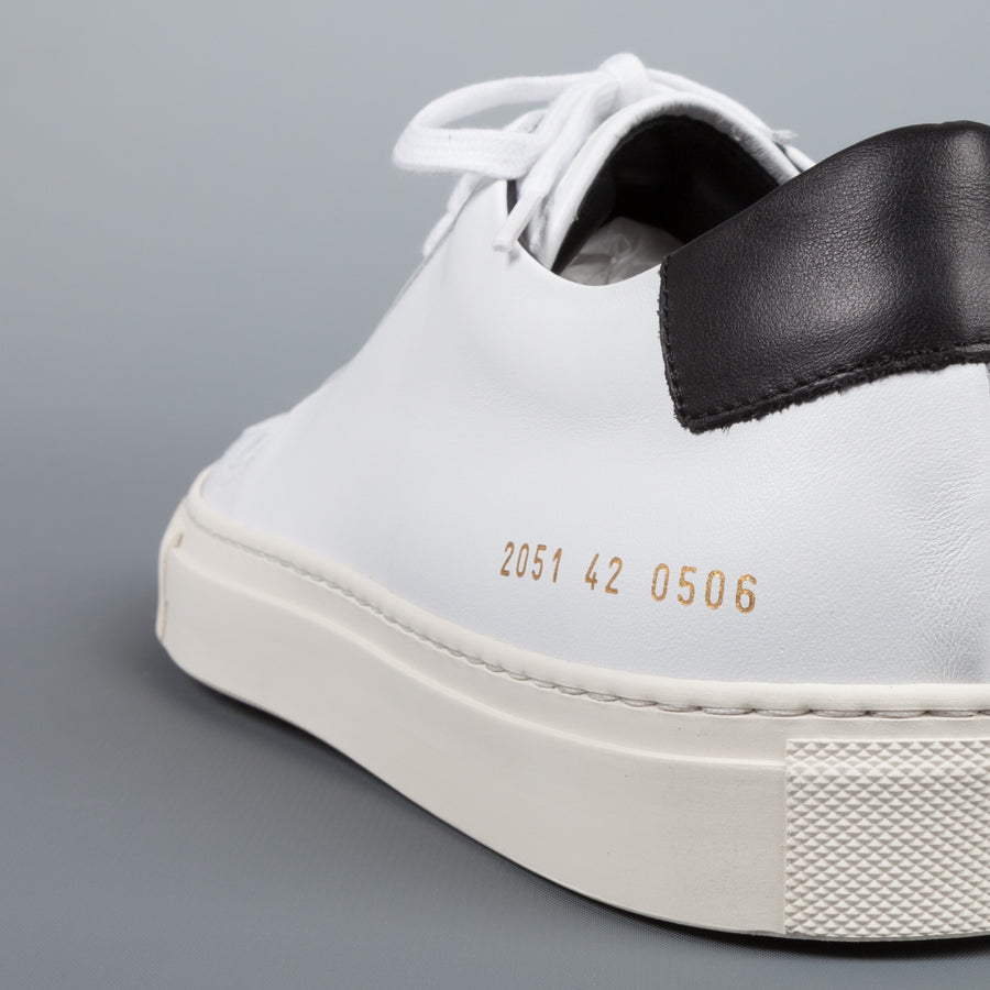 Common Projects  2051 BBall low retro 0506 white-black