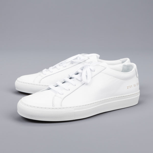 New in again! Woman by Common Projects Achilles low white – Frans Boone Store