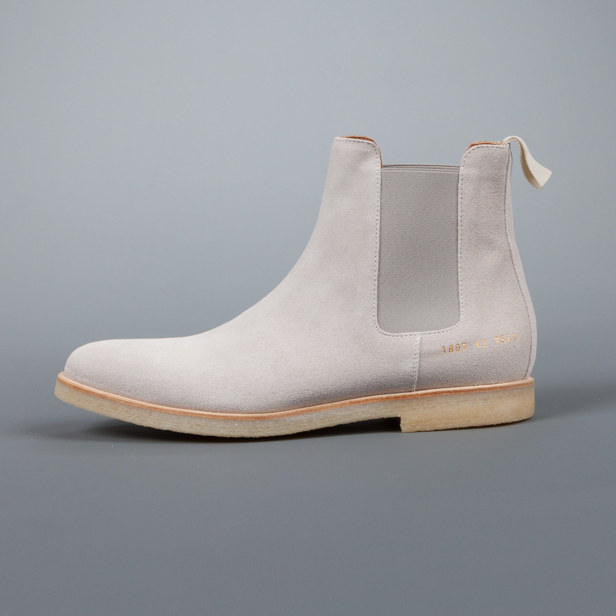 common projects 1897 chelsea boot 7543 grey frans boone store. Black Bedroom Furniture Sets. Home Design Ideas