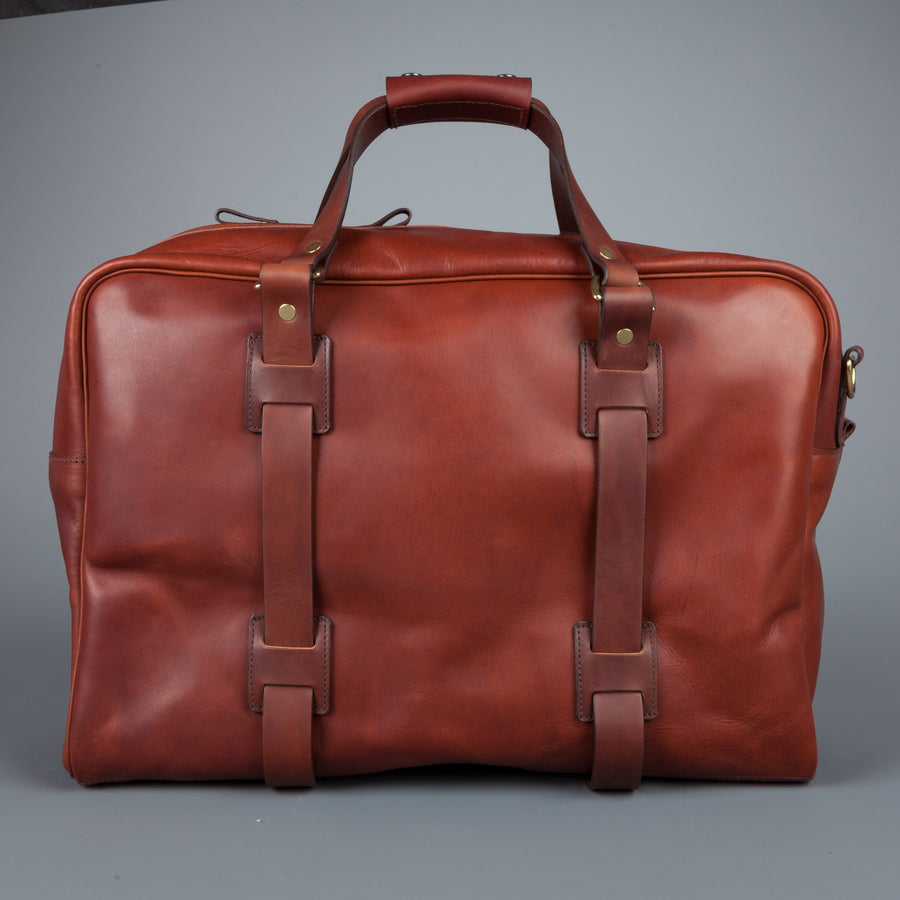 Croots Holdall Italian Calf leather Port