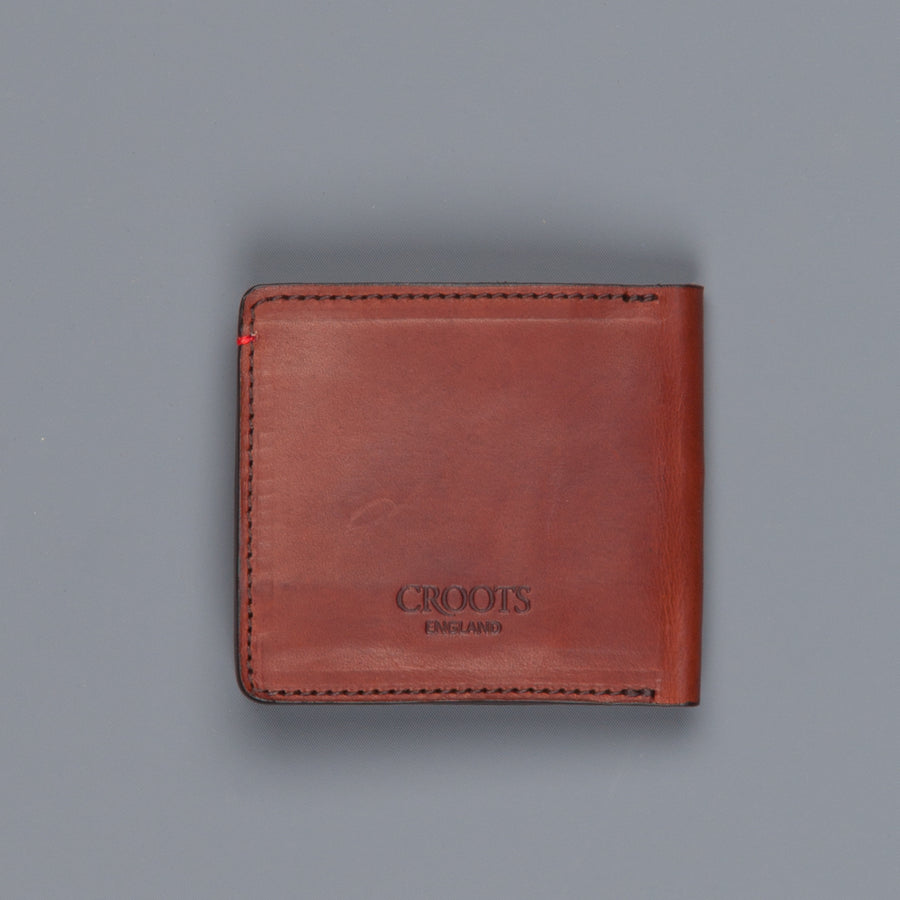 Croots Vintage leather folding wallet classic port