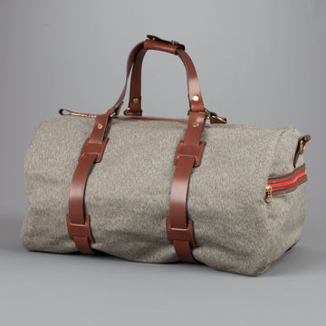 Croots Duffle Holdall  Salt and Pepper