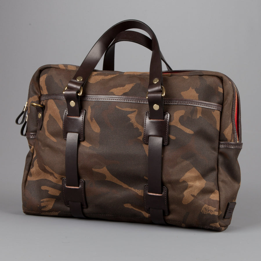 Croots Laptop Bag waxed camo