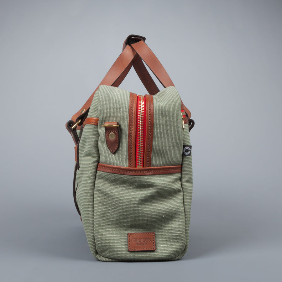 Croots Jungle Canvas Traveler Bag