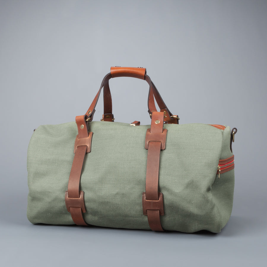 Croots Jungle Canvas Duffle Holdall Medium