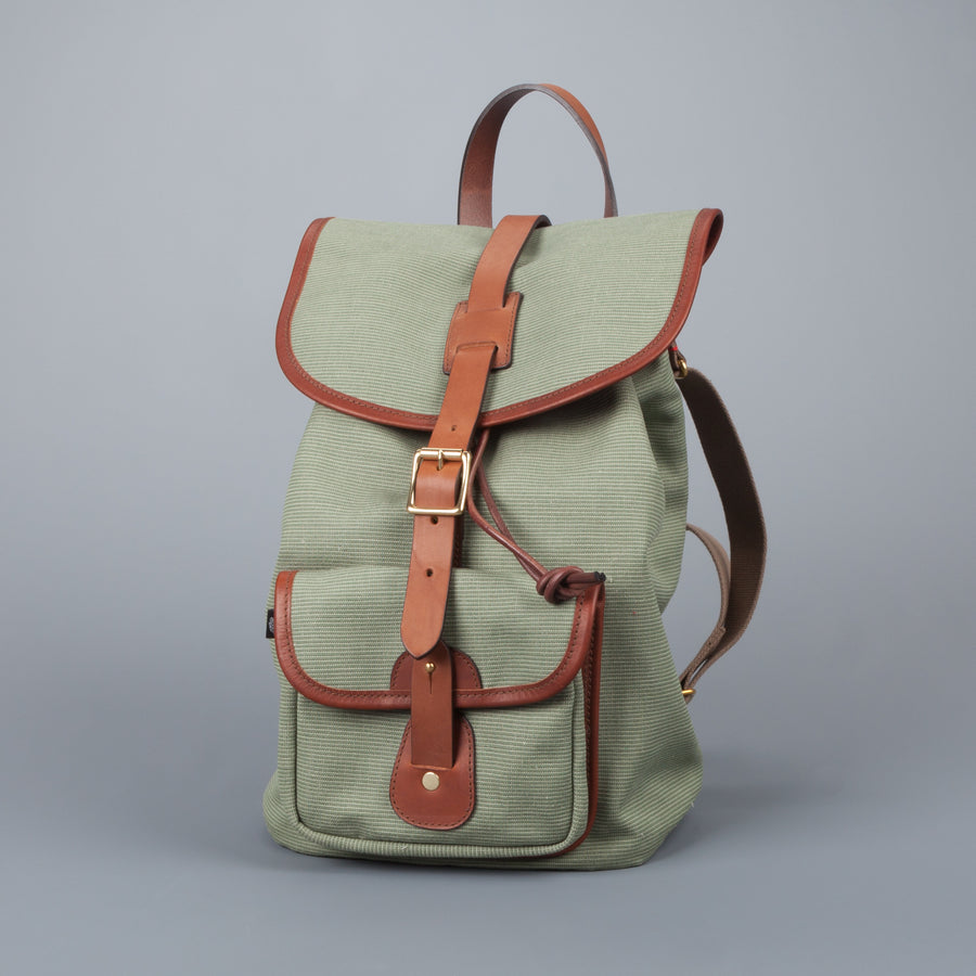 Croots Jungle Canvas Rucksack