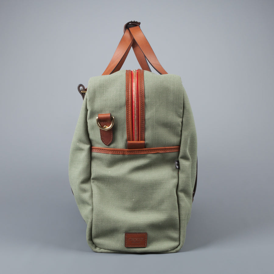 Croots Jungle Canvas Holdall Large