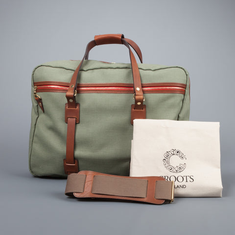 Croots Jungle Canvas Flight Bag