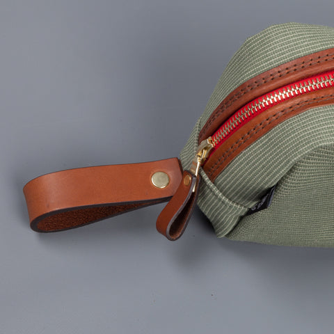 Croots Jungle Canvas Wash Bag
