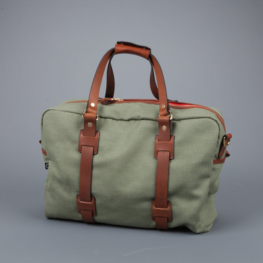 Croots Jungle Canvas Holdall Medium