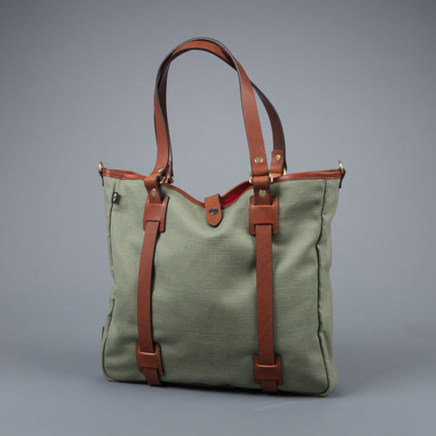 Croots Jungle Canvas Tote Bag Large