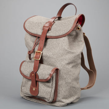 Croots Drawstring rucksack Salt and Pepper