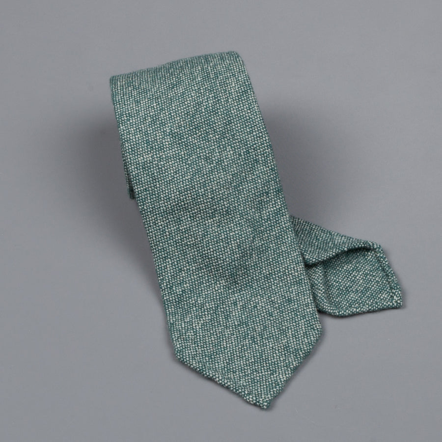 Drake's Cashmere Tie untipped bottle melange