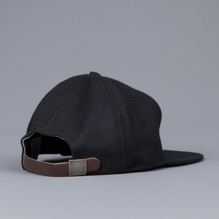 Ebbets Field Flannel Atlanta Crackers 1947 6 panel strap back cap black