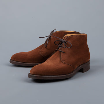 Edward Green Banbury Snuff suede on 202 last