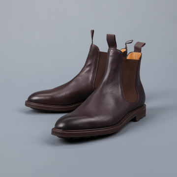 Edward Green Newmarket dark brown Utah on Ridgeway sole