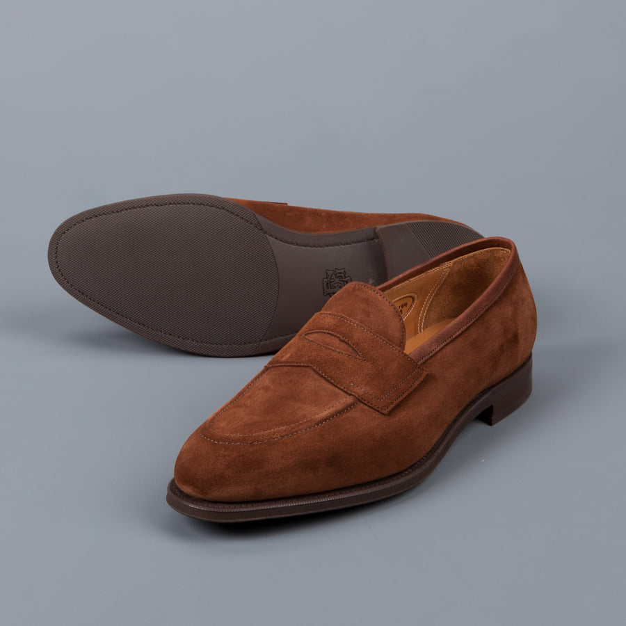 Edward Green Piccadilly in Snuff suede
