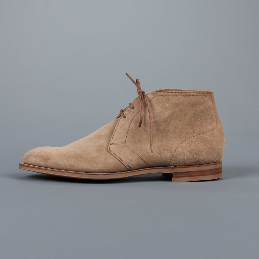 Edward Green Shanklin in Mushroom Suede