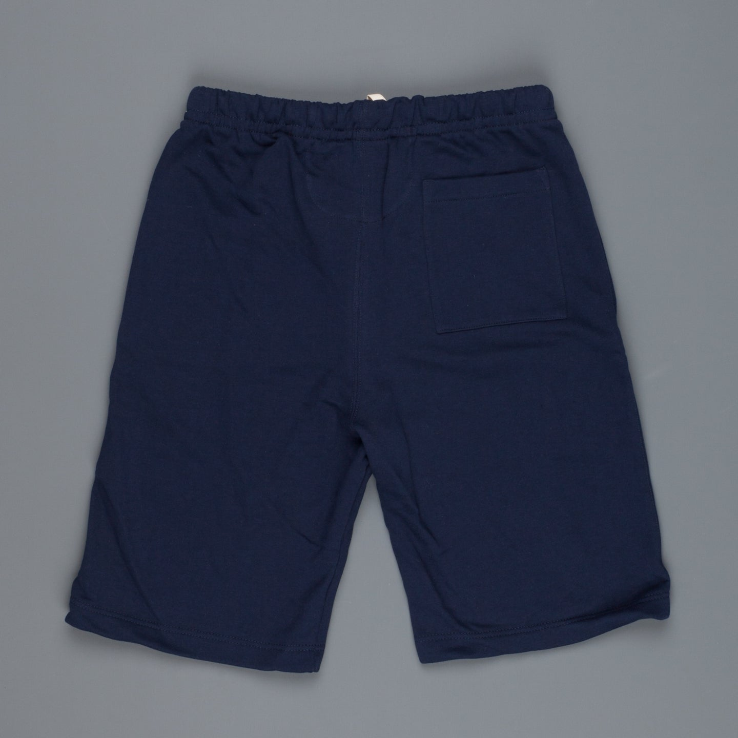 Merz B Schwanen 356 3 thread fleece sweatpants short 66 ink blue