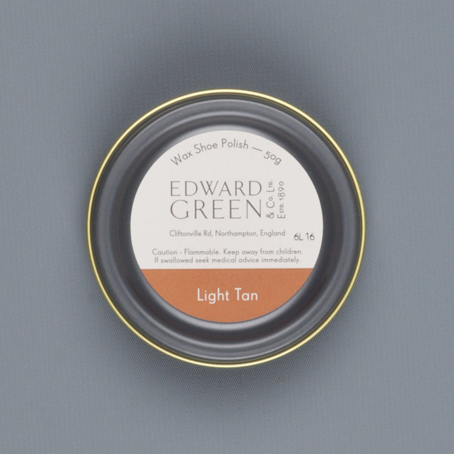 Edward Green Polish Tin Light Tan