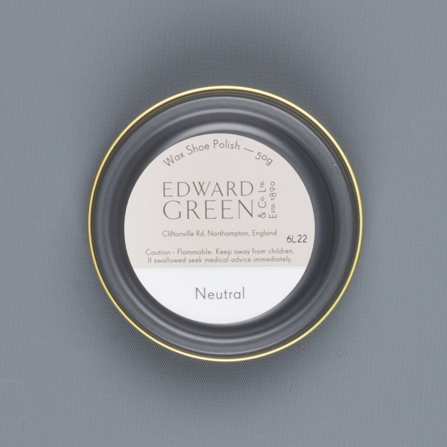 Edward Green Polish Tin Neutral