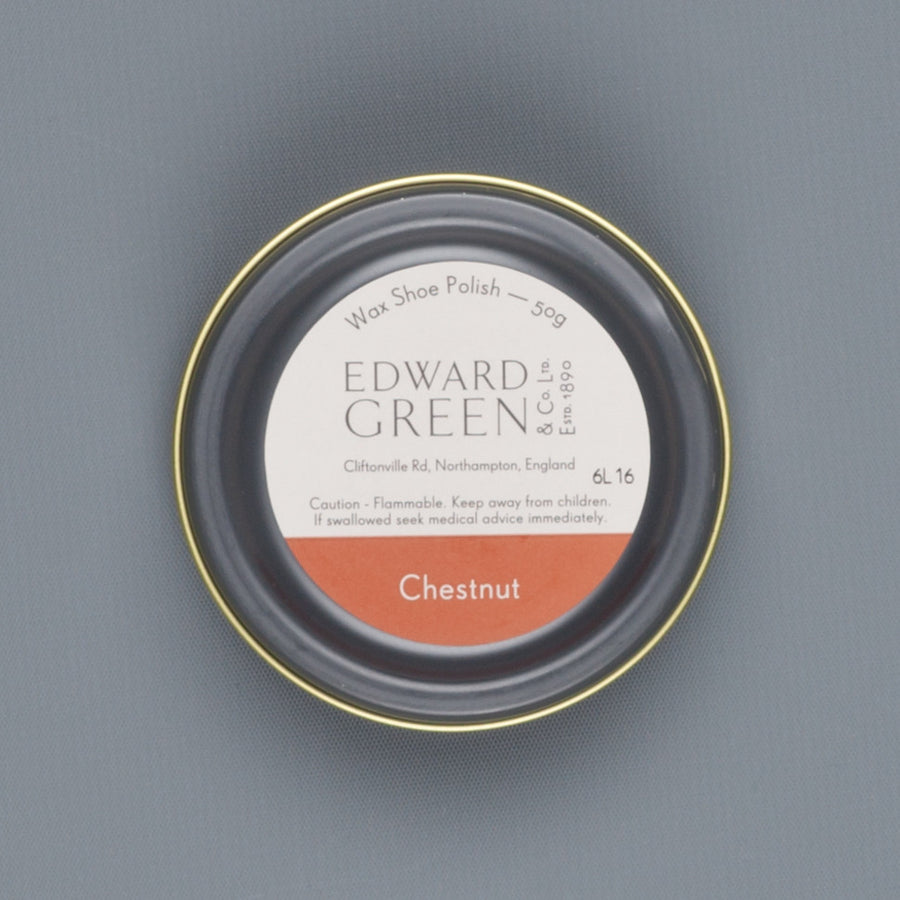 Edward Green Polish Tin Chestnut