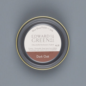 Edward Green Polish Tin Dark Oak