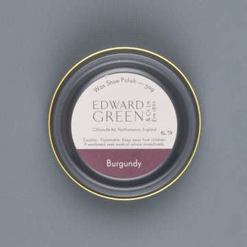 Edward Green Polish Tin Burgundy