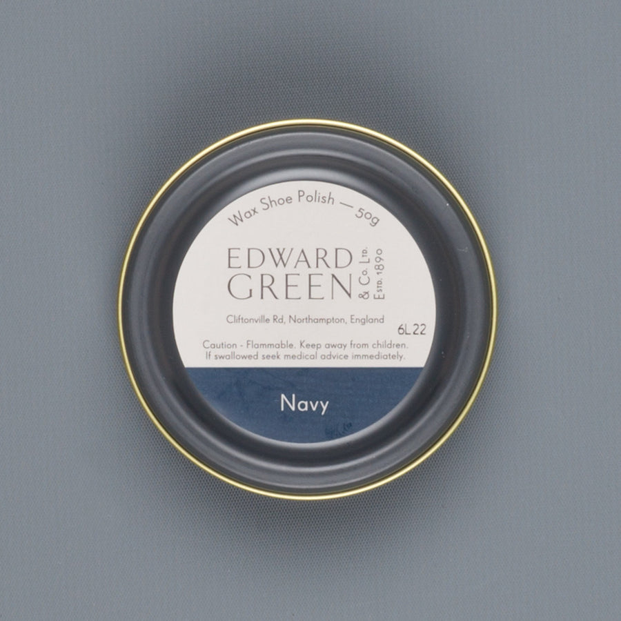 Edward Green Polish Tin Navy