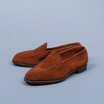 Edward Green Harrow in Snuff Suede