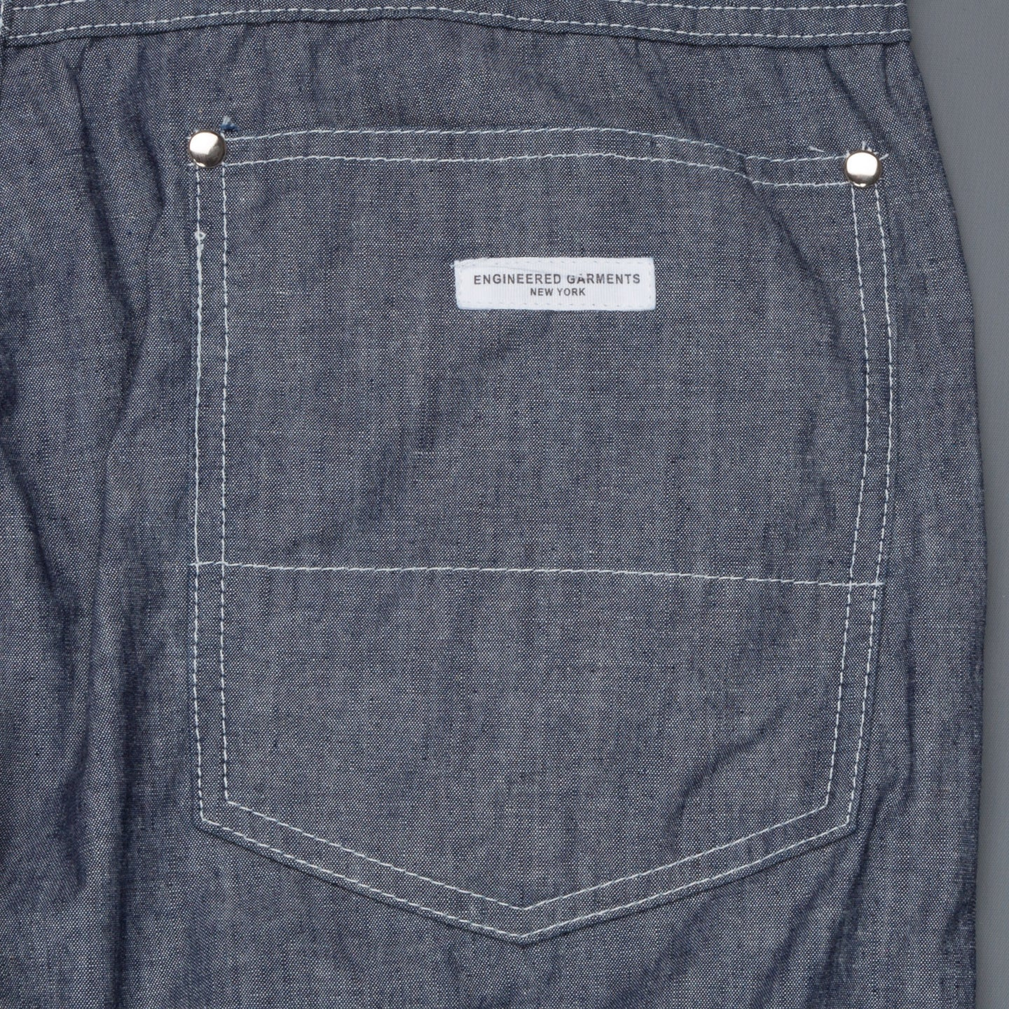 Engineered Garments Type II Jeans Blue Cone Chambray