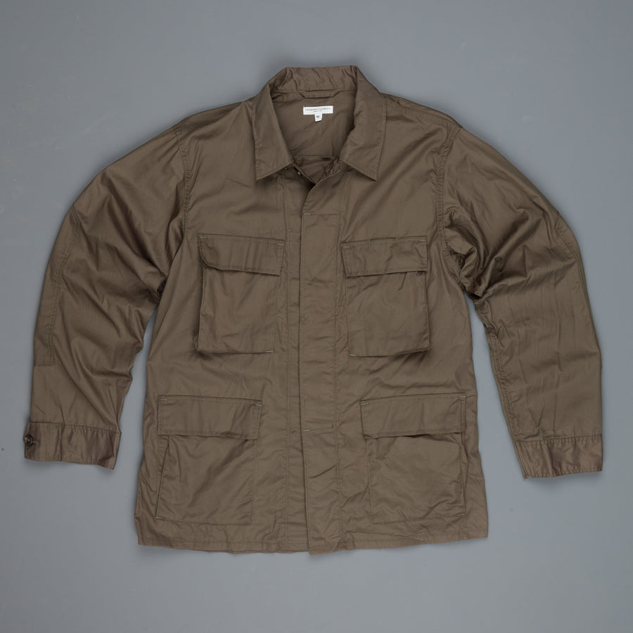 Engineered Garments BDU Jacket Olive High Count Twill