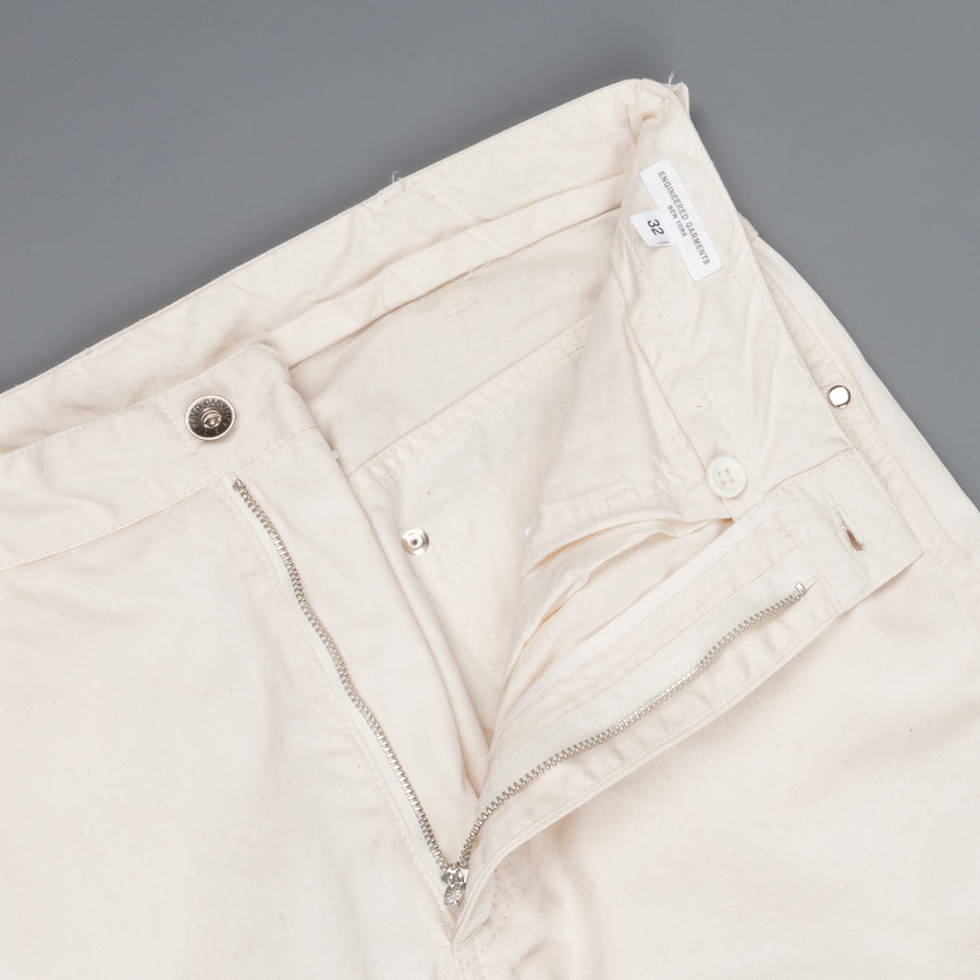 Engineered Garments Type II Jeans Natural 7oz Cotton Twill