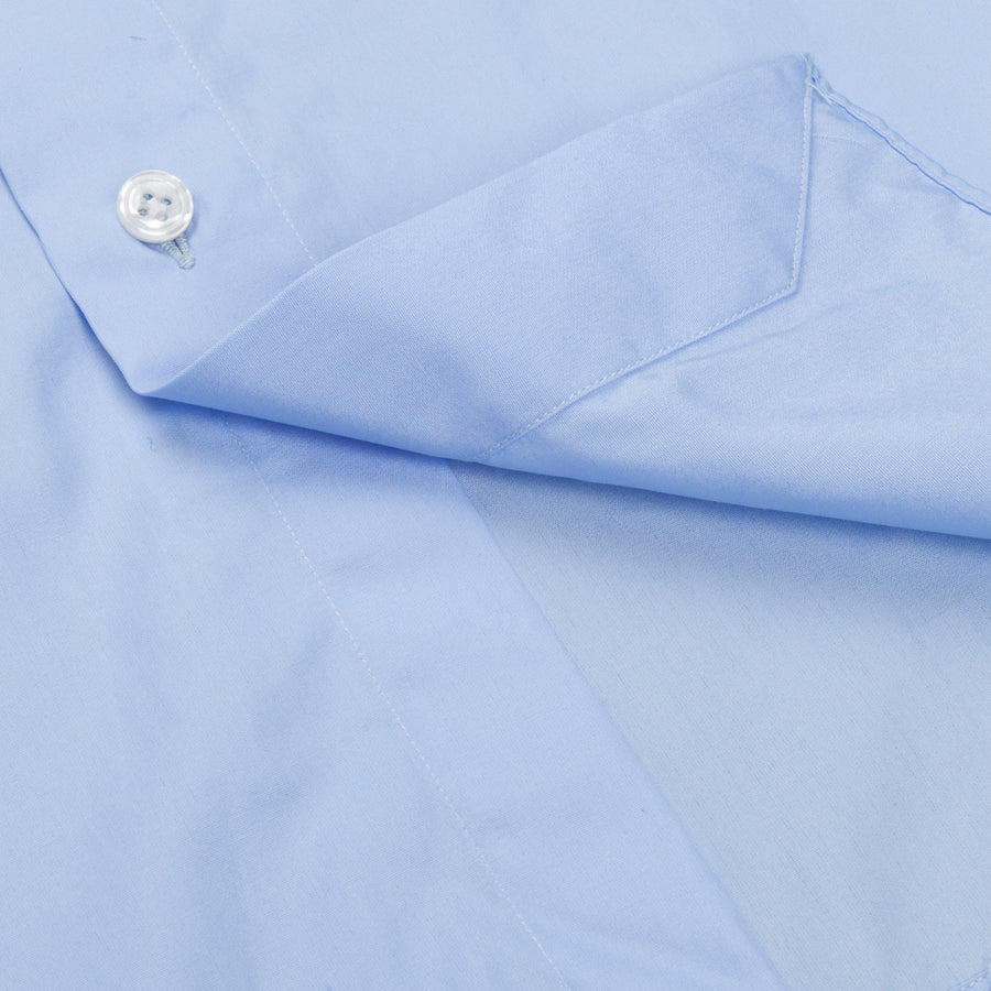 Finamore Milano Shirt Soft Collar Eduardo Blue