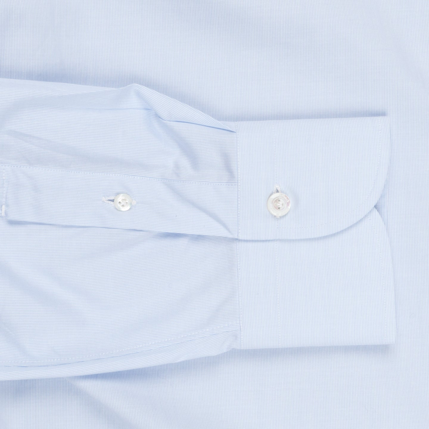 Finamore Napoli shirt Eduardo collar Light blue hairline