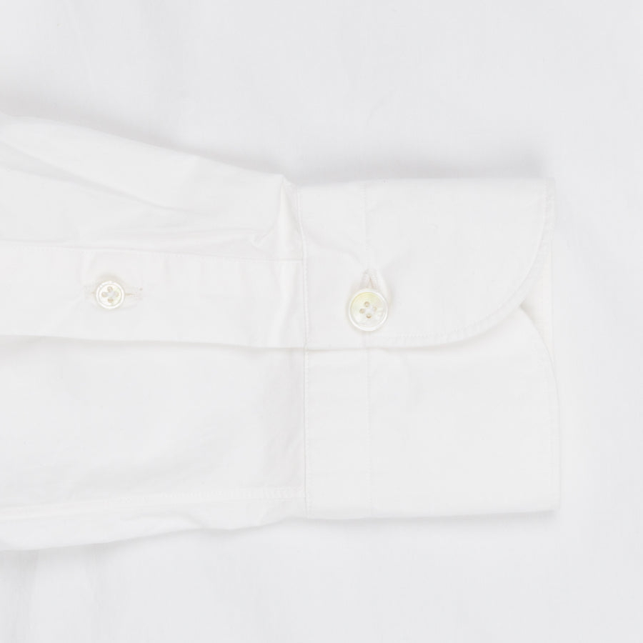 Finamore Seattle shirt white washed