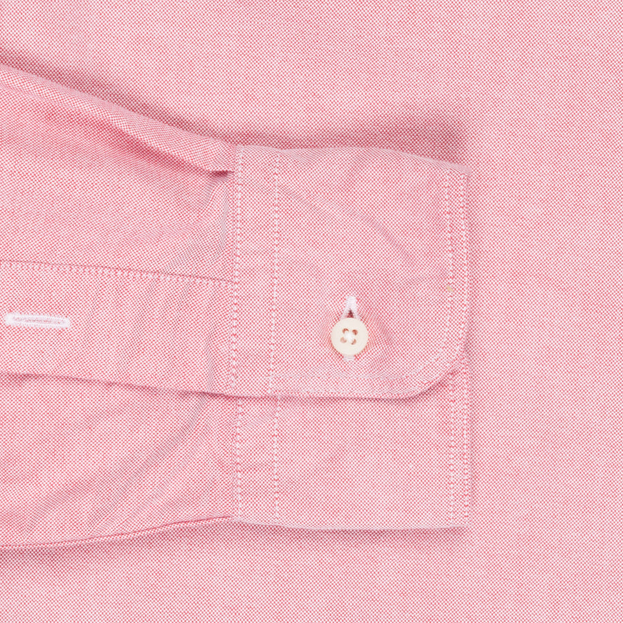 Gitman Vintage oxford button down shirt old pink