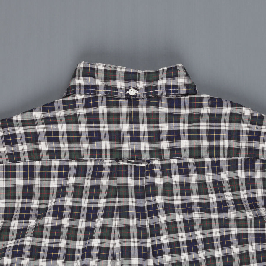 Gitman Vintage Button Down shirt daywatch tartan