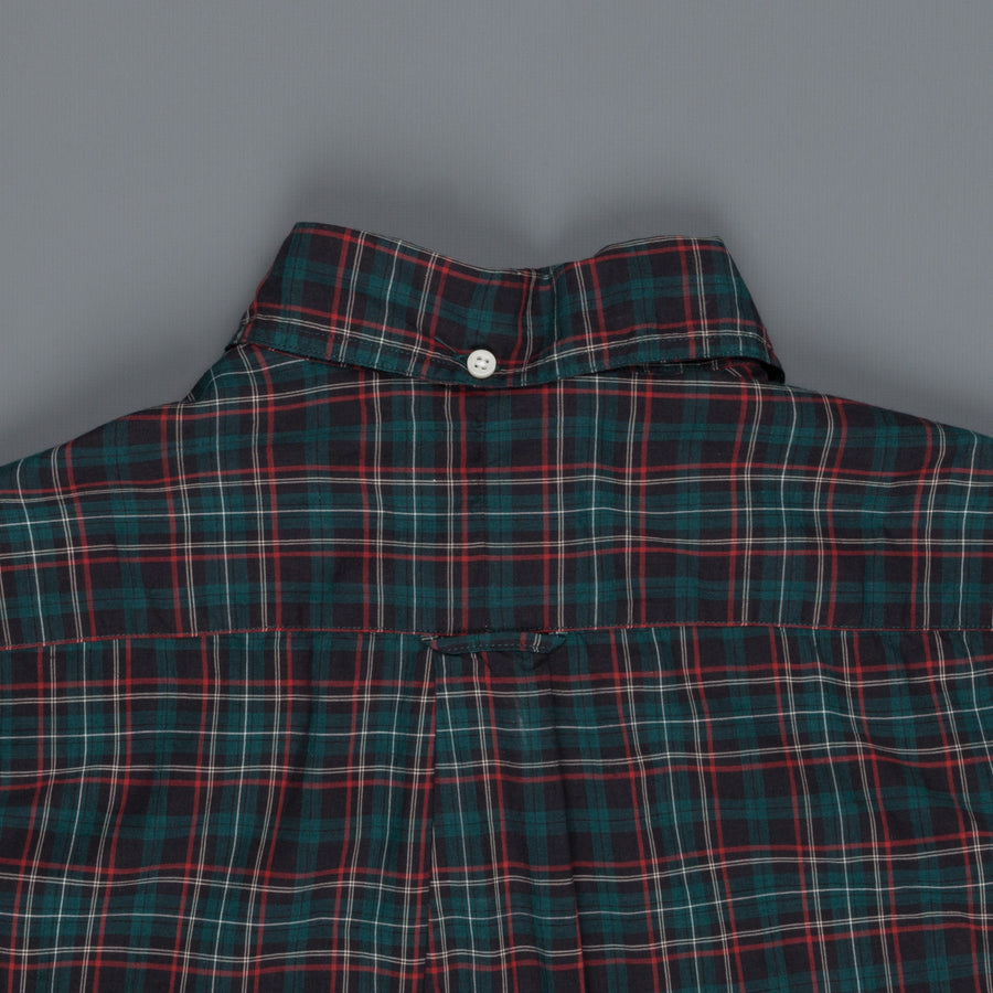 Gitman Vintage Button Down bottle tartan