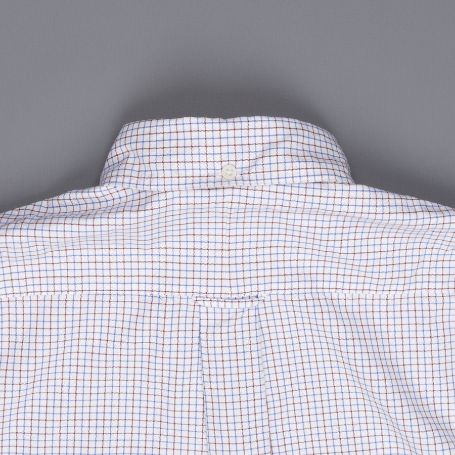 Gitman Vintage Button-Down Shirt Blue Brown check