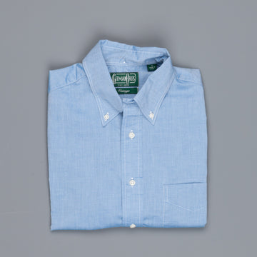 Gitman Vintage Button-Down Shirt Fine Chambray Blue