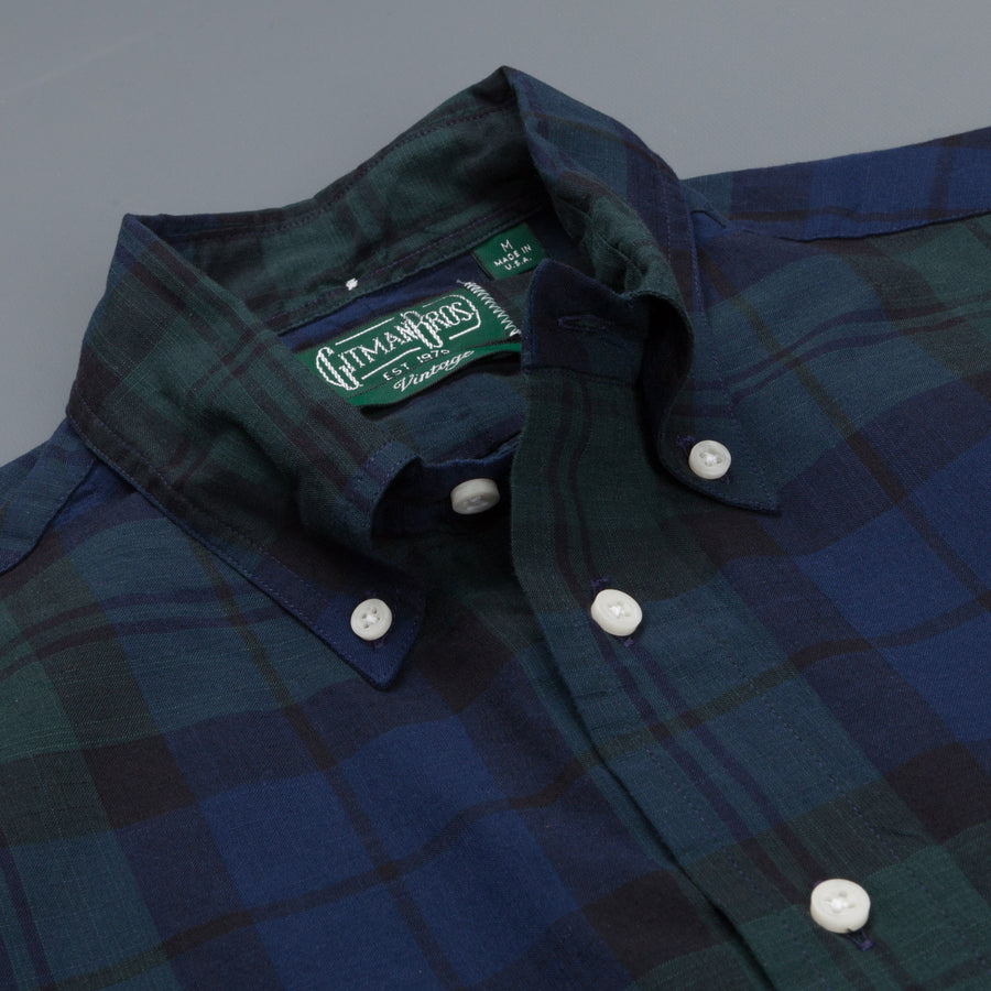Gitman Vintage Button-Down Shirt Blackwatch