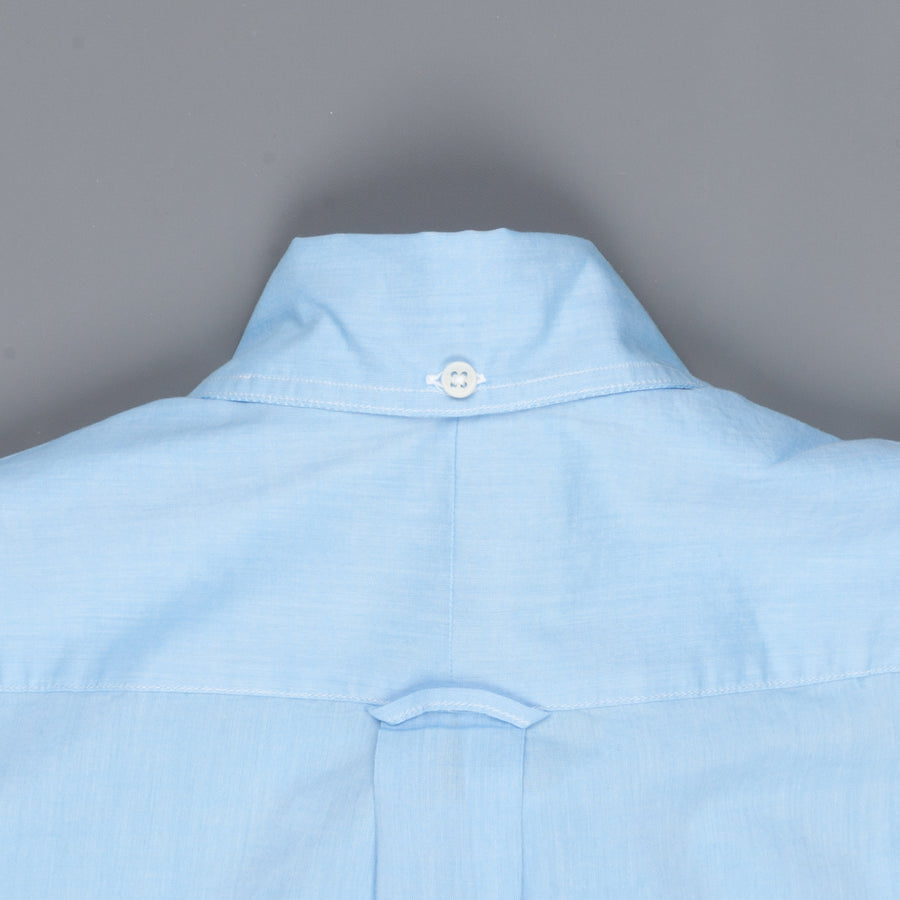 Gitman Vintage Button-Down Shirt Fine Chambray Azure