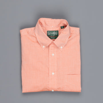 Gitman Vintage Button-Down Shirt Fine Chambray Peach