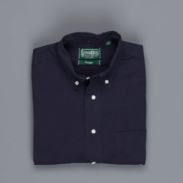 Gitman Vintage Button-Down Shirt Fine Chambray Overdyed navy
